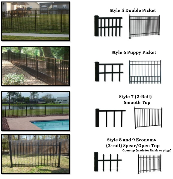 Aluminum Fencing Free Fence Estimate Fence Contractor